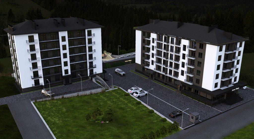 arena village нерухомість закарпаття